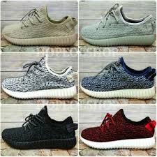Jual Sepatu Nike Air Yeezy yeezy boost 350 black harga
