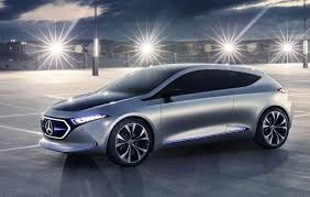 concept mercedes mercedes benz previews future small ev with eqa concept