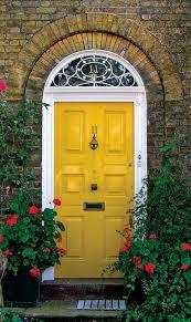 yellow front door 30 inspiring front door designs hinting towards
