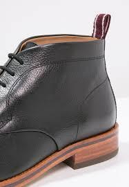 h by hudson men casual shoes lenin lace ups black h by hudson
