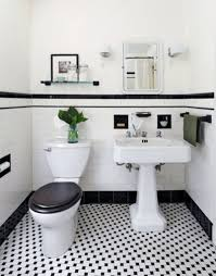 black and white bathroom decorating ideas black and white tile bathroom decorating ideas home interior