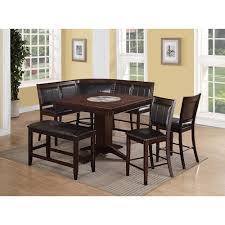 crown mark harrison 7 piece counter height dining set with