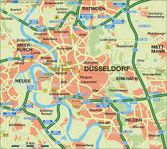 Essen Germany Map by Dusseldorf Map