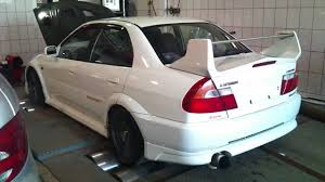 mitsubishi evo jdm evo 5 jdm dyno mp4 youtube