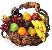 fresh fruit basket delivery fruit basket with bouquet available for mumbai delivery fast