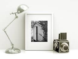Vintage Powder Room Framed Bathroom Art Powder Room Art Vintage Outhouse Photo