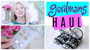 super affordable gordmans haul home decor fashion more youtube
