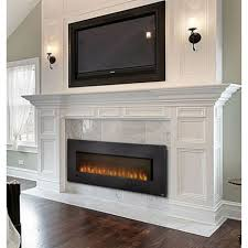 Indoor Electric Fireplace Slimline 72 Linear Electric Fireplace Mantels Pinterest