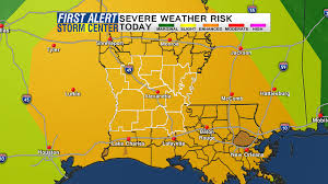 Severe Weather Map Severe Weather And Flooding Possible Today What You Need To Do