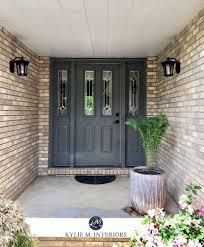 purple front door paint colors curb appeal front door