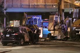 one dead 2 injured after u0027drunk u0027 driver crashes into construction