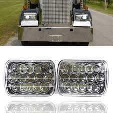 t600 kenworth custom 2x led headlights for kenworth t400 t600 t800 w900b w900l classic