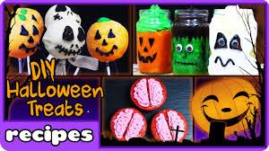 diy halloween treats top 5 easy halloween recipe by hooplakidz