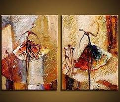 amazon com wieco art ballet dancers 2 piece modern decorative