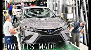 where is toyota made how its made 2018 toyota camry production