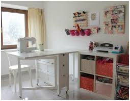 Small Folding Table Ikea Easy Diy Ikea Hack Make A Cheapo Table Into A Sewing Table This