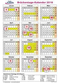 Kalender 2018 Bayern Gesetzliche Feiertage Zum Ausdrucken Der Radio Arabella Brückentage Kalender