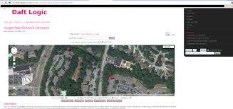 Map Distance Calculator Index Of Stuff