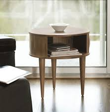 Side Table In Living Room Furniture Inspiring Side Table Idea With Wooden Material