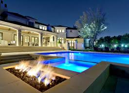 Firepit Outdoor Sophisticated Outdoor Pit Designs Near The Swimming Pool