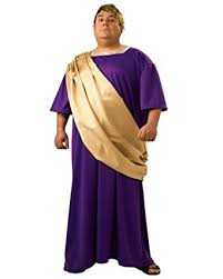 togas for sale caesar costume rome toga robe purple and gold