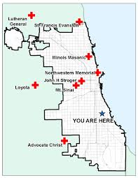 Evanston Illinois Map by As Chicagoans Vote For Mayor A Trauma Center Anda Presidential