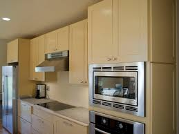 Staining Unfinished Kitchen Cabinets Modern Large Kitchen With Small Glass Door Home Depot Unfinished