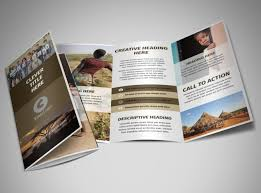 african mission trip brochure template mycreativeshop