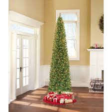 time pre lit 9 brinkley pine artificial tree