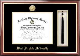 diploma frames with tassel holder west virginia diploma frame college logo spirit mat