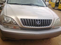 lexus rx300 year 2000 clean newly cleared lexus rx300 for sale autos nigeria