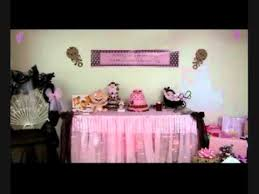 pink and brown baby shower baby shower pink and brown theme wmv