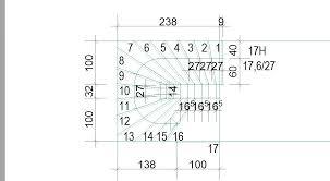 halbgewendelte treppe konstruieren gewendelte treppe zeichnen autocad podesttreppe grundrisse planen