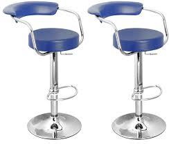bar blue bar stools