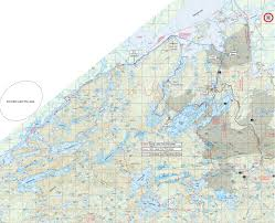 Boundary Waters Map Bwca September 2012