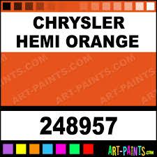 chrysler hemi orange engine enamel enamel paints 248957