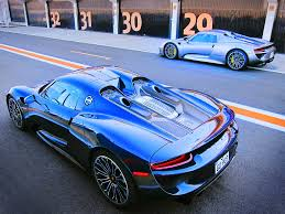 porsche 918 spyder blue 9 things you need to know about the porsche 918 spyder pfaff auto