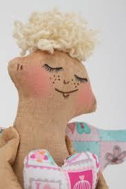 Schlafzimmer Deko Engel Madeheart U003e Stoff Puppe Handgefertigt Wohnzimmer Deko Engel Puppe