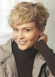 women over fifty short wavy thin hair google search hairstyles