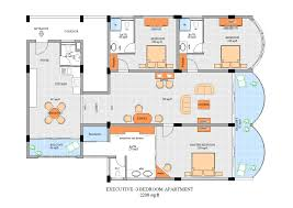 Best 3 Bedroom Floor Plan by Three Bedroom Apartments Floor Plans