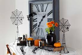 ideas some amazing designs for halloween mantel decoration