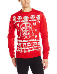 star wars men u0027s holiday sweater at amazon men u0027s clothing store