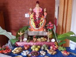 Home Decoration Of Ganesh Festival by Bits From Bangalore Letters From India Ganesh Chaturthi This Year