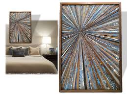 contemporary wood wall made reclaimed wood wall custom made wood starburst