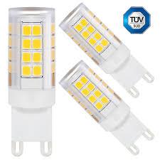 Led Light Bulbs 2700k by 3 Pack 3 5w Ceramic G9 Led Bulb Torchstar