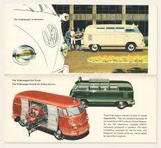 volkswagen van interior 1958 59 volkswagen bus brochure u2013 oldcuts