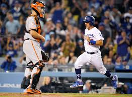 Seeking Series Blanco Dodgers Get 1st Runs And Win Of Season 5 0 Giants Midland