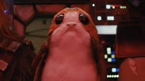 what is a porg and what does the wars penguin character do