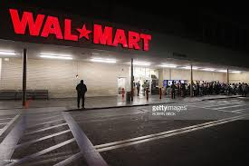 early morning shoppers await the 500am opening of a walmart store in picture id78074560