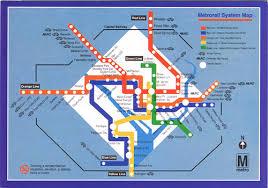dc metro rail map washington dc metrorail map postcard kotarana flickr